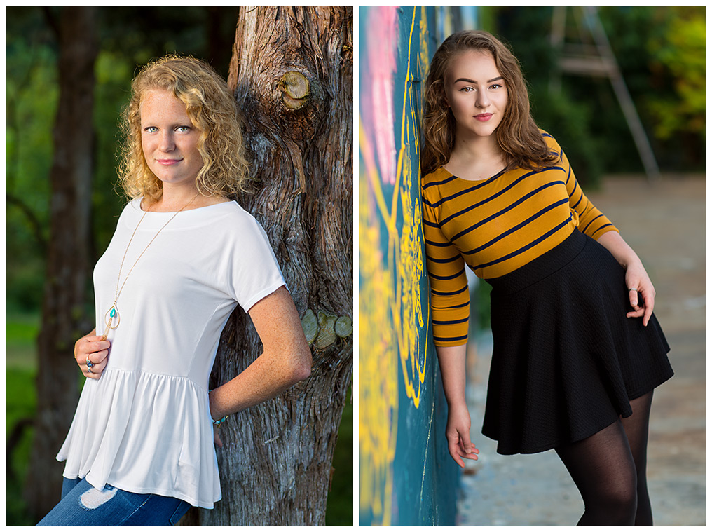 Ali Johnson Photography Senior models
