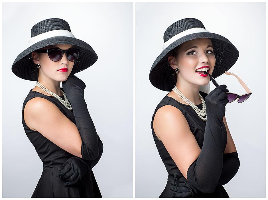 Audrey Hepburn Inspired senior portrait (17)