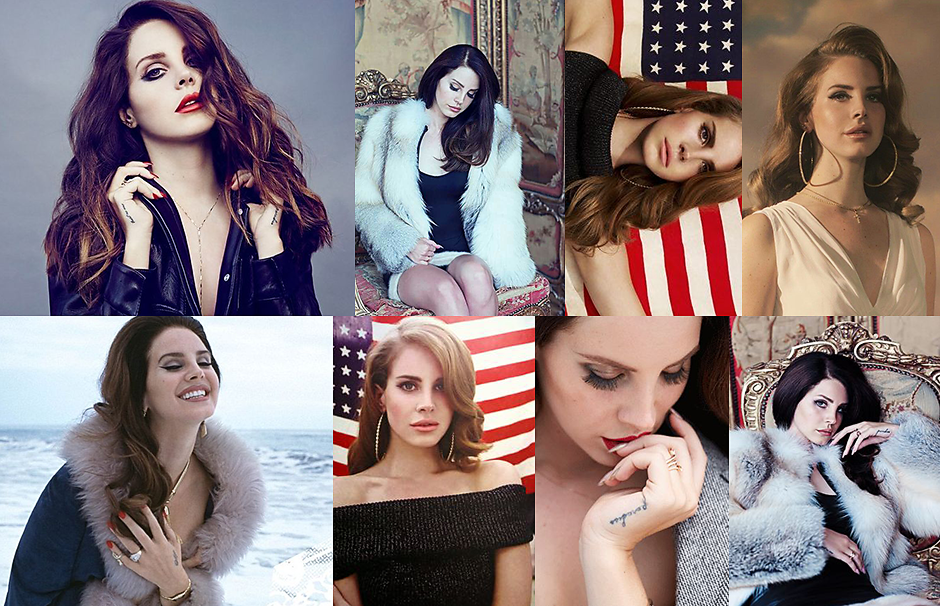 Lana Del Rey icon session